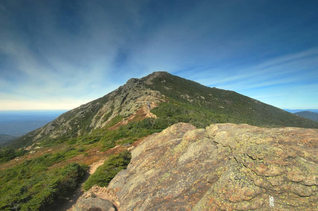 Lafayette Mt along the Franconia Ridge in the White Mountains in New Hampshire