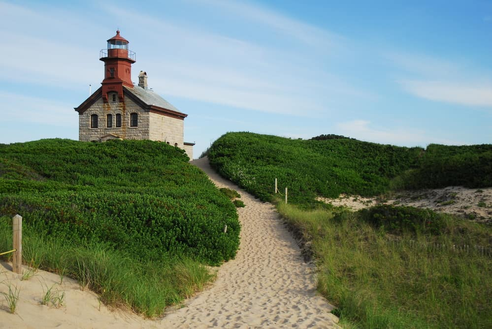 things to do on block island - The Historic North Light on Block Island, Rhode Island