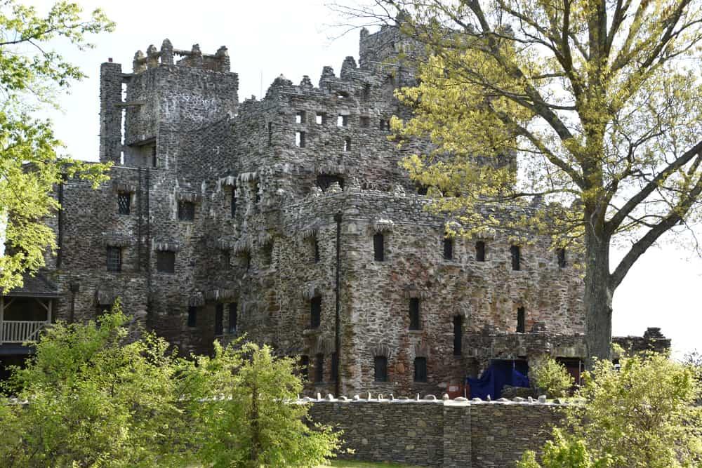 a classic stone castle located in connecticut usa