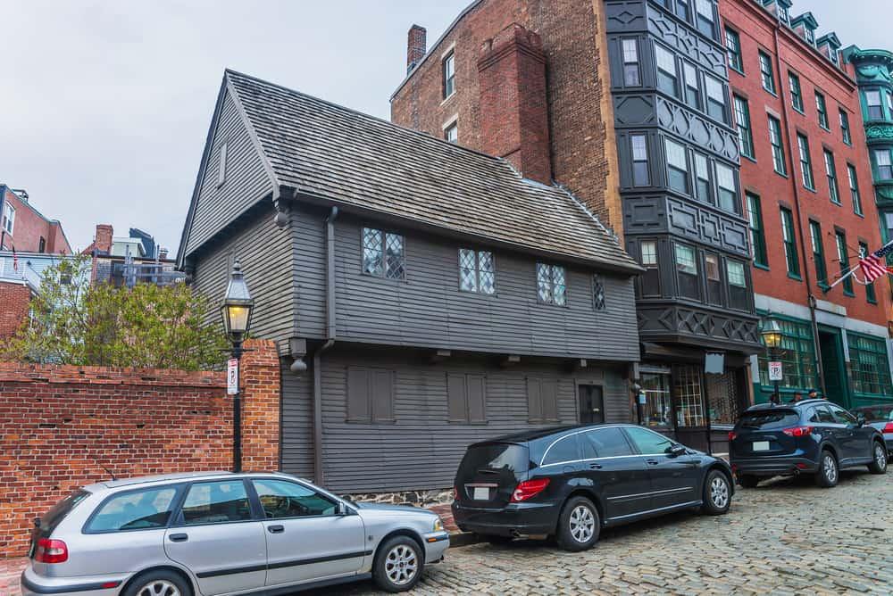 Old brown building