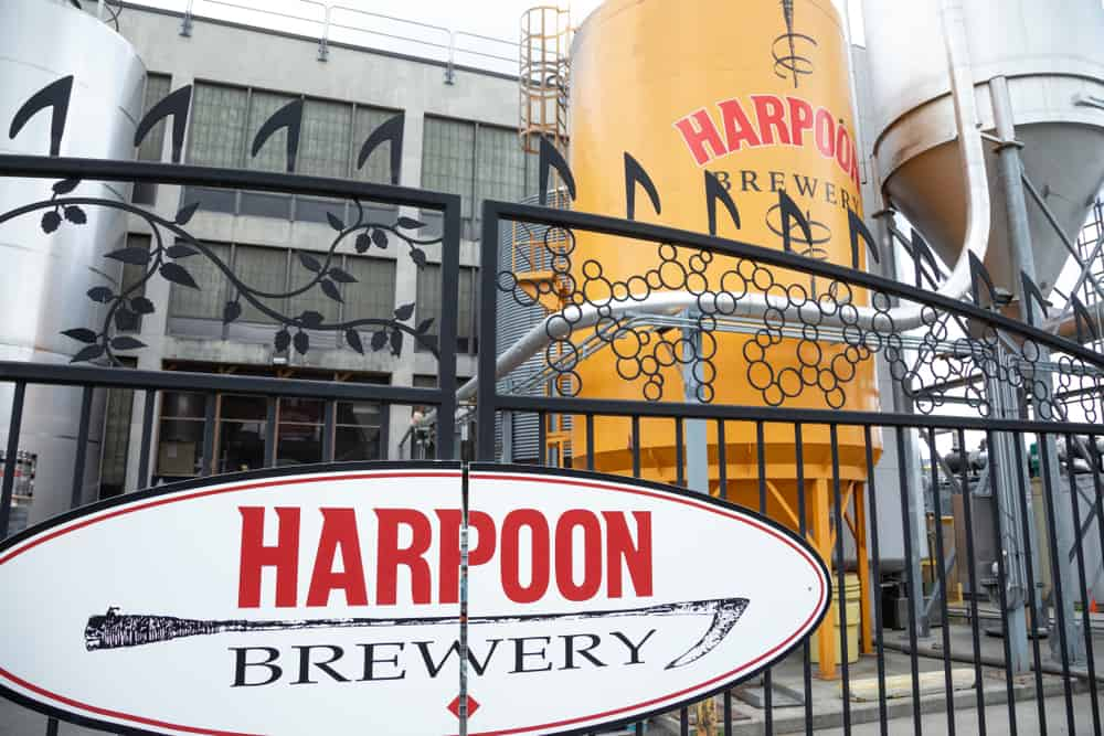 Entrance to Harpoon Brewery