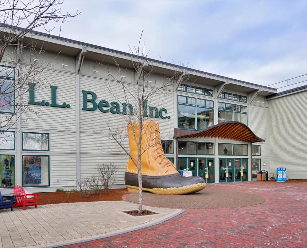 LL Bean flagship store in Freeport, things to do in Freeport